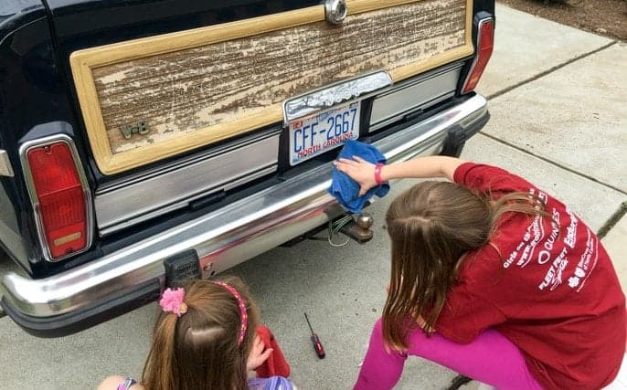 polish aluminum bumpers