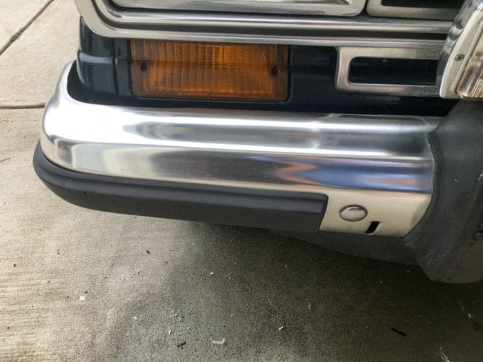 how to polish aluminum bumpers, polish metal bumpers