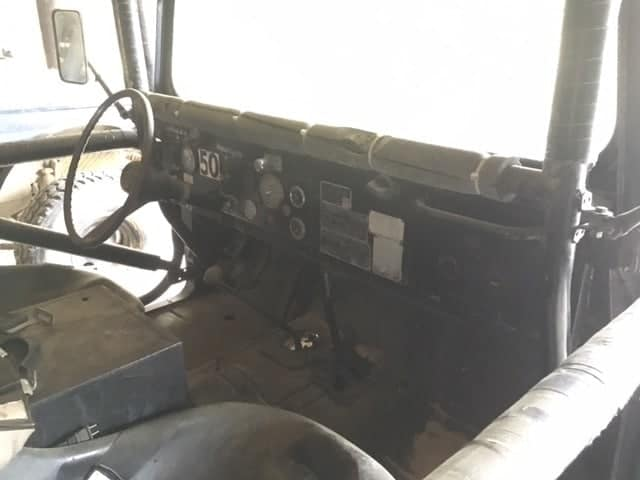 Jeep M715 Interior Photo