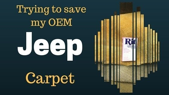 Saving the OEM Jeep Carpet Original Jeep Carpet, #Wagoneer, #Jeep, #JEEPLIFE, #Jeepers, #JeepKids