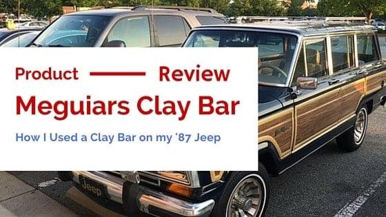 meguiars clay bar