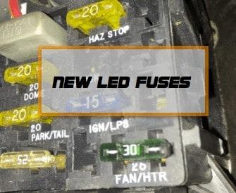 New LED fuses