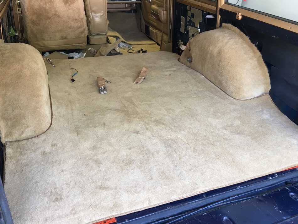 Replacement Jeep Carpet, #jeep, Grand Wagoneer, #wagoneer