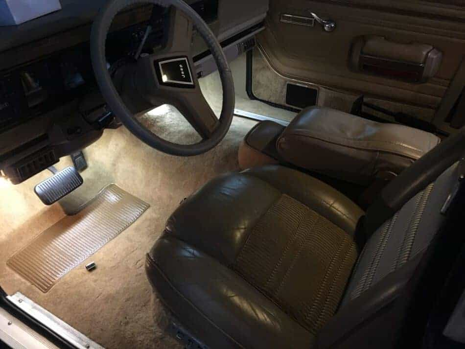 LED Strip Lights for the Jeep Grand Wagoneer
