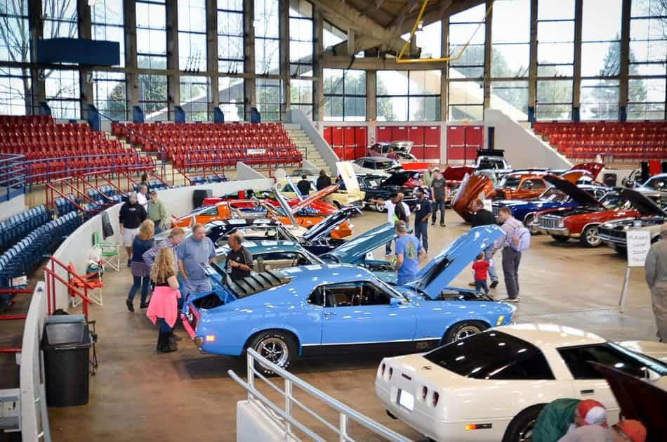 NC Auto Expo - Classics Display 2017
