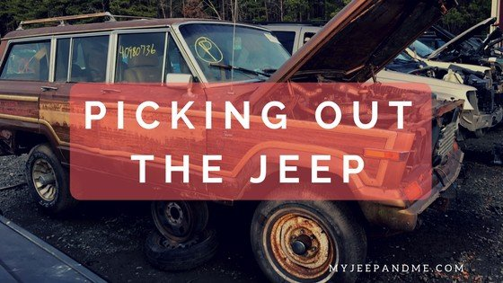 Picking out the 1987 Jeep Grand Wagoneer