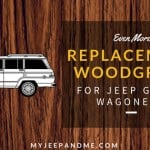 Replacement vinyl Woodgrain for Jeep Grand Wagoneers