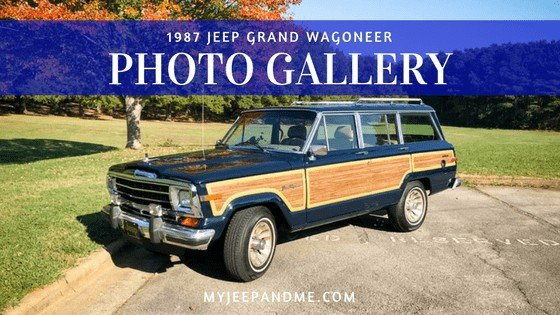 1987 Jeep Grand Wagoneer, Photo Gallery, #jeep, #wagoneer, #MyJeep
