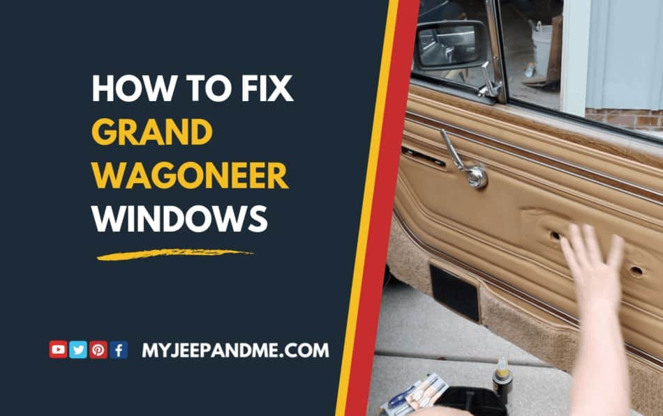 How To Fix Jeep Windows with Flex Track