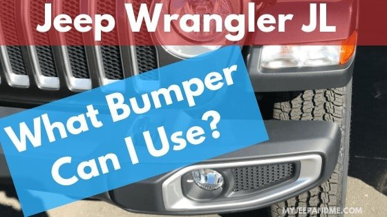 What Jeep Wrangler JL Front Bumper Can I Use?