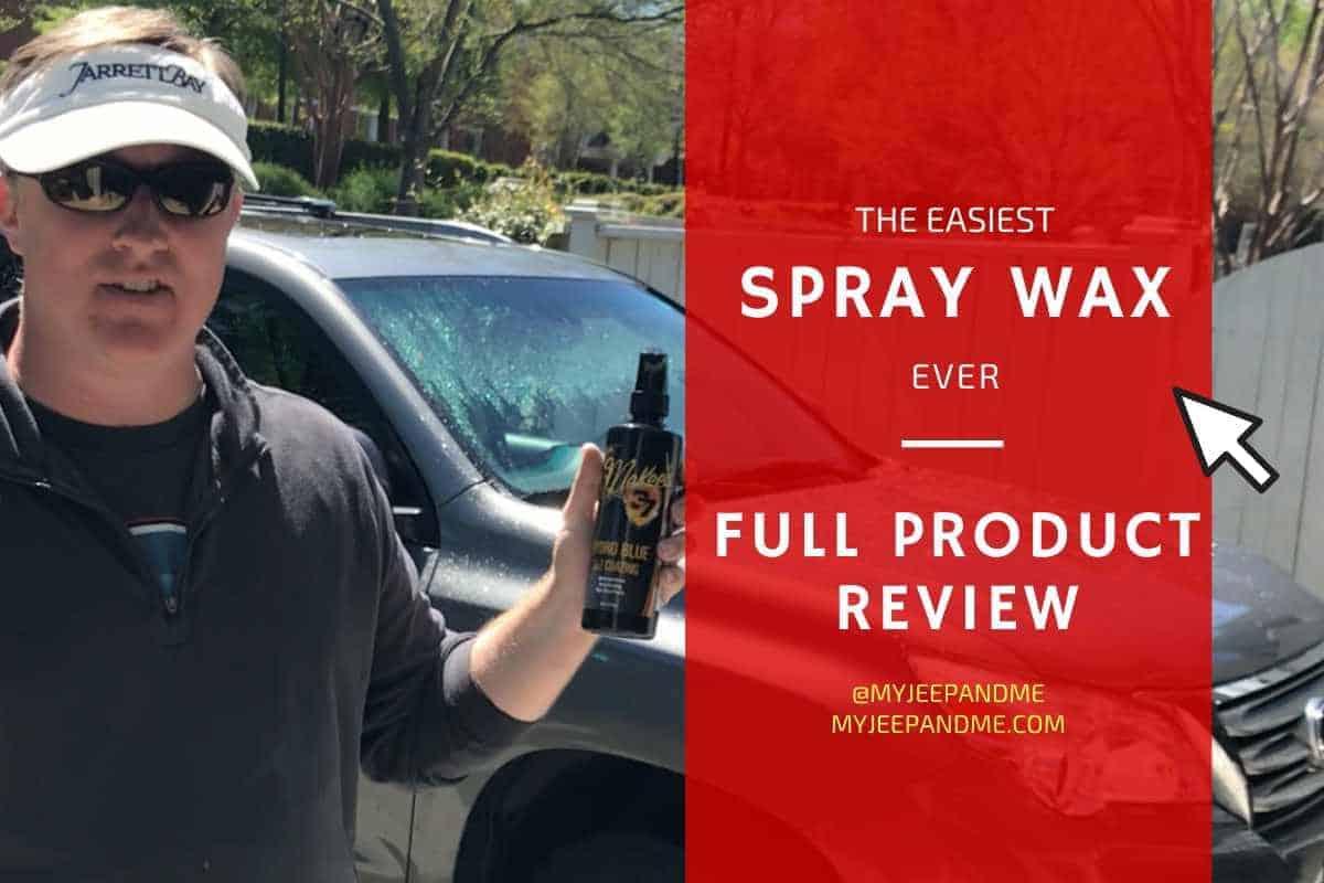 Best Spray Car Wax