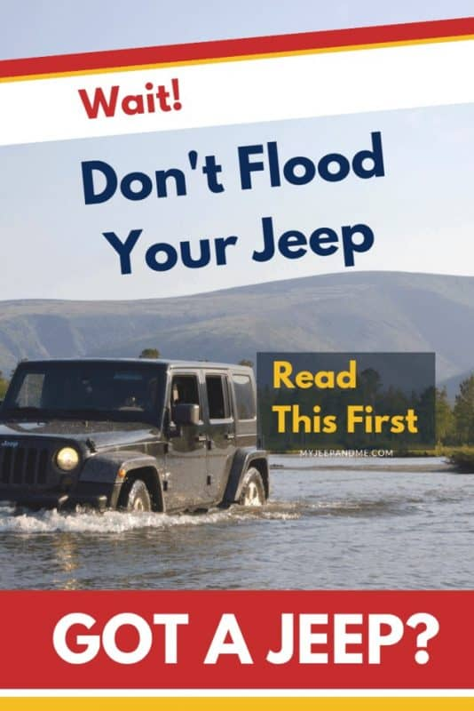 """How Deep Can A Jeep Wrangler Go In Water? How do I properly ford water in a Jeep? Driving In the Water? What Is A Hydrolocked Engine? Can a hydrolocked engine be fixed? How much does it cost to fix a hydrolocked engine? What does it mean to """"ford"""" a river? #Jeep #JeepLife #Wrangler"""