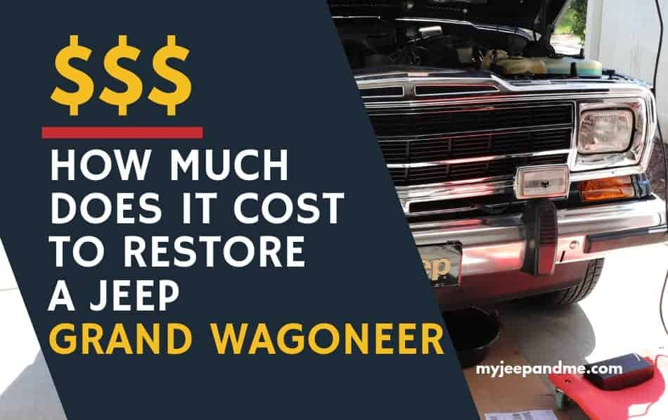 What does it cost to restore a Jeep Grand Wagoneer, #Jeep, #JeepLife, #Wagoneer, #Woody