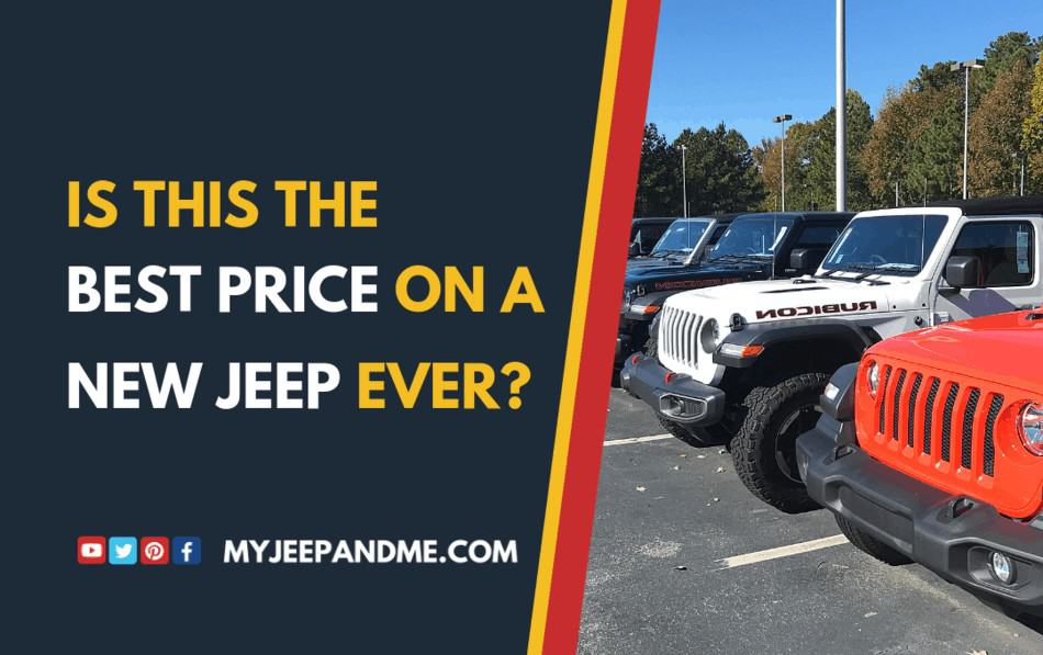 How to Get A Really Nice Jeep Wrangler JL for Cheap?