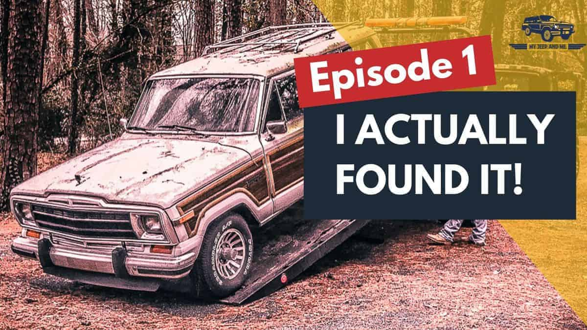 VIDEO PREMIERE: Finding VIN# 001 | The First of the Final Edition Jeep Grand Wagoneers
