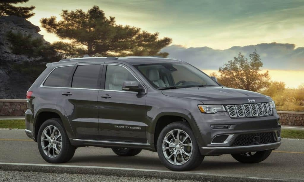 towing a boat with a 2020 Jeep® Grand Cherokee Summit gas tank size