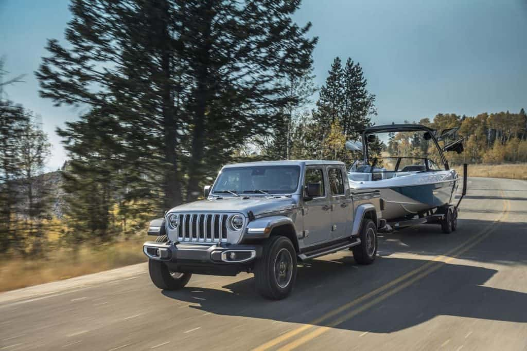 Jeep Gladiator Towing Capacity. How Much Can A Jeep Gladiator Tow?