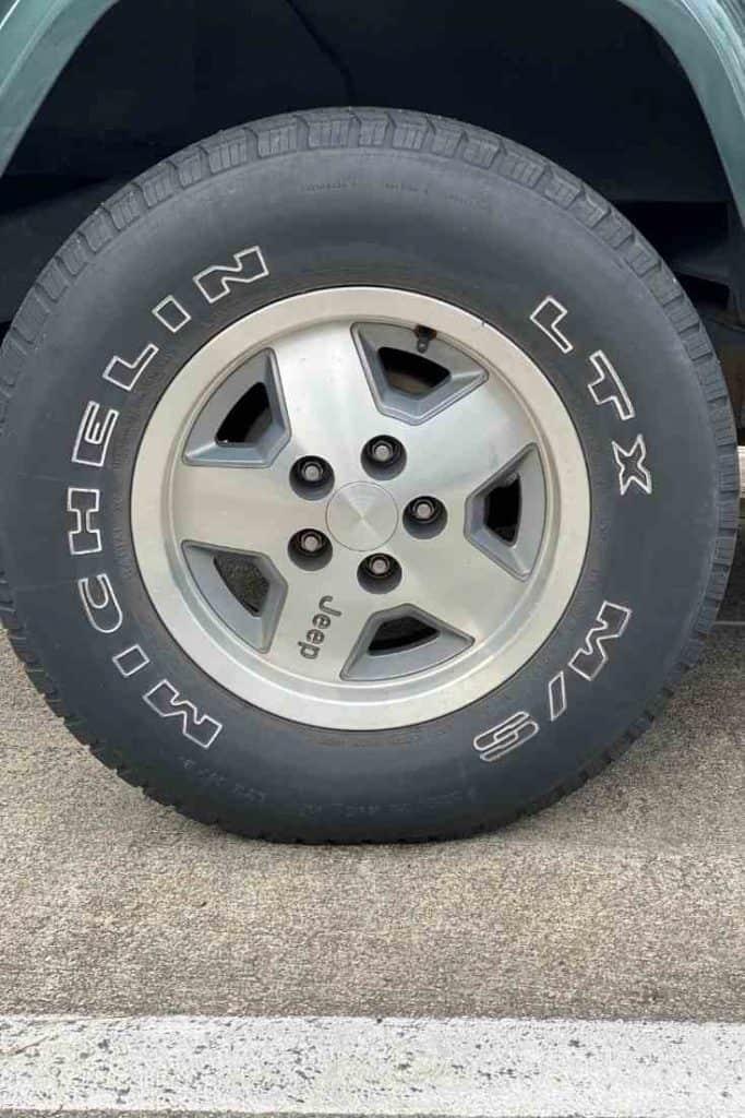 Highway Terrain Tires Jeep Tires #Jeep, #Wrangler, #Tires