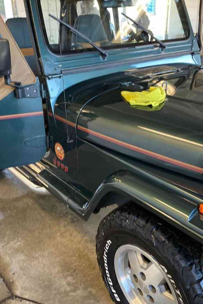 Cleaning a Jeep and Jeep Soft Top