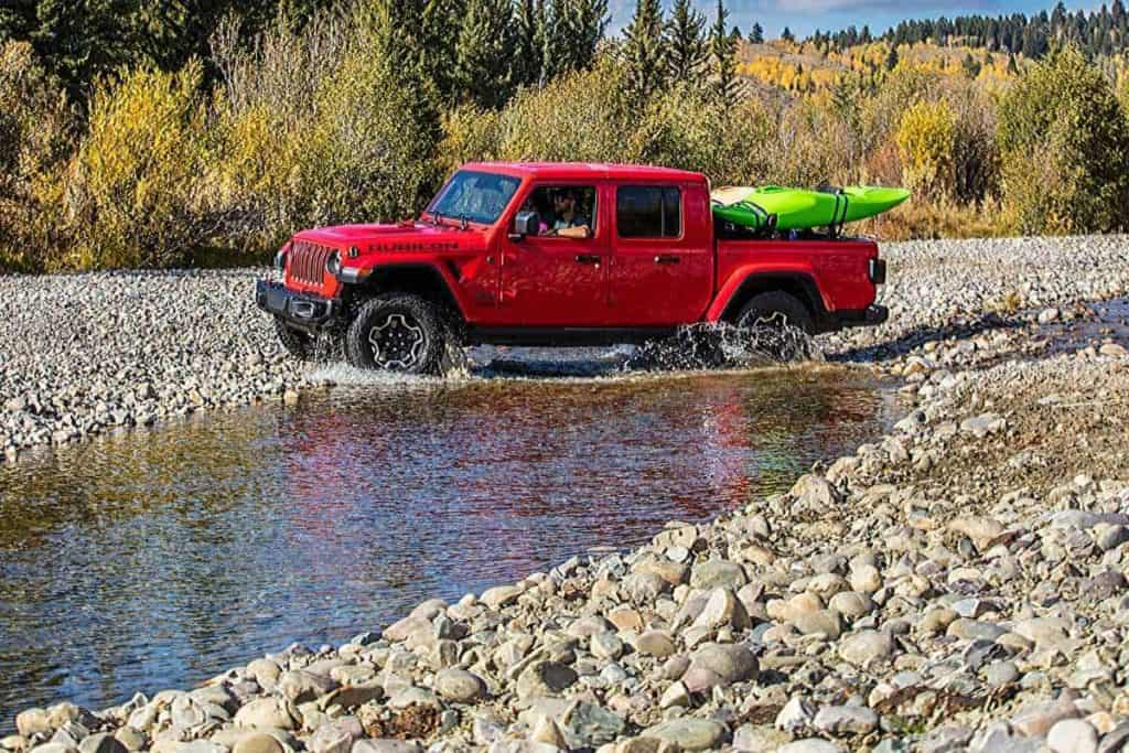 Can the Jeep Gladiator be Flat Towed?