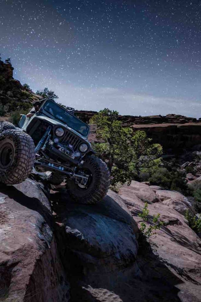 locking differentials in a Jeep Wrangler