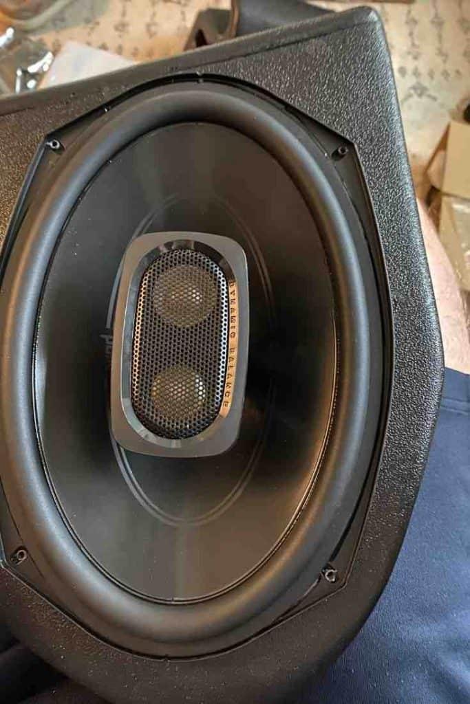 Add Rear Speaker Wedges to a Jeep Wrangler YJ or Jeep Wrangler TJ