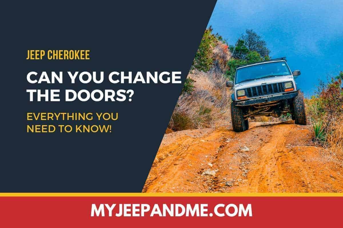 Are Jeep Cherokee Doors Interchangeable? #Jeep #Cherokee