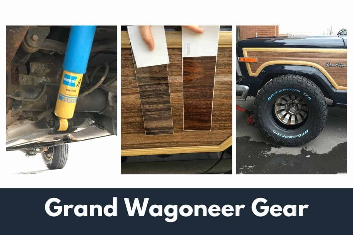 Jeep Grand Wagoneer parts and accessories