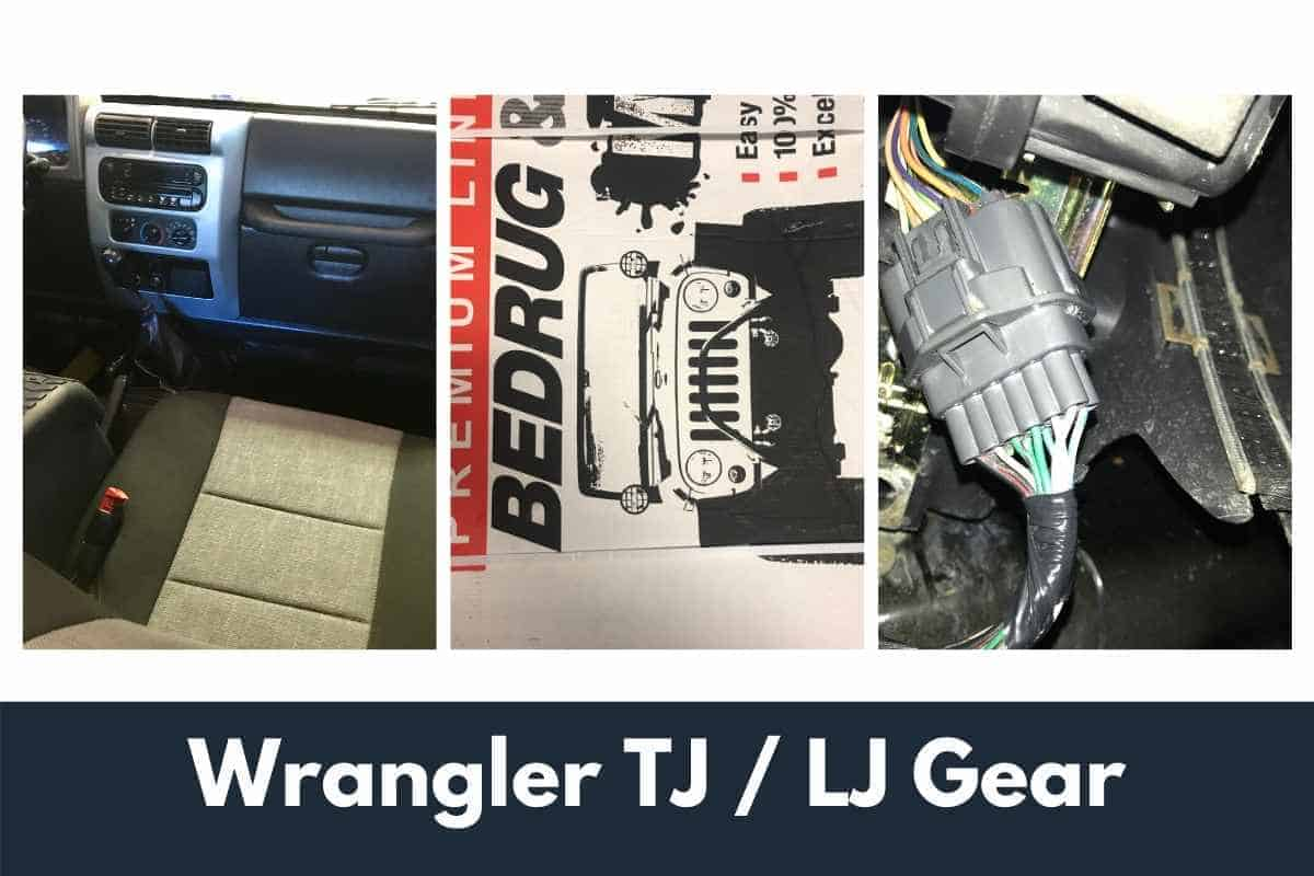 Jeep Wrangler TJ JL Parts and Accessories