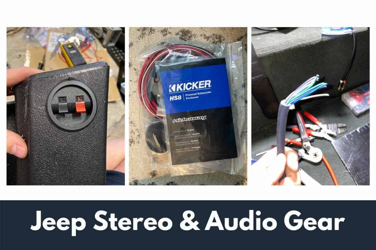 Best Jeep Stereo & Audio Gear