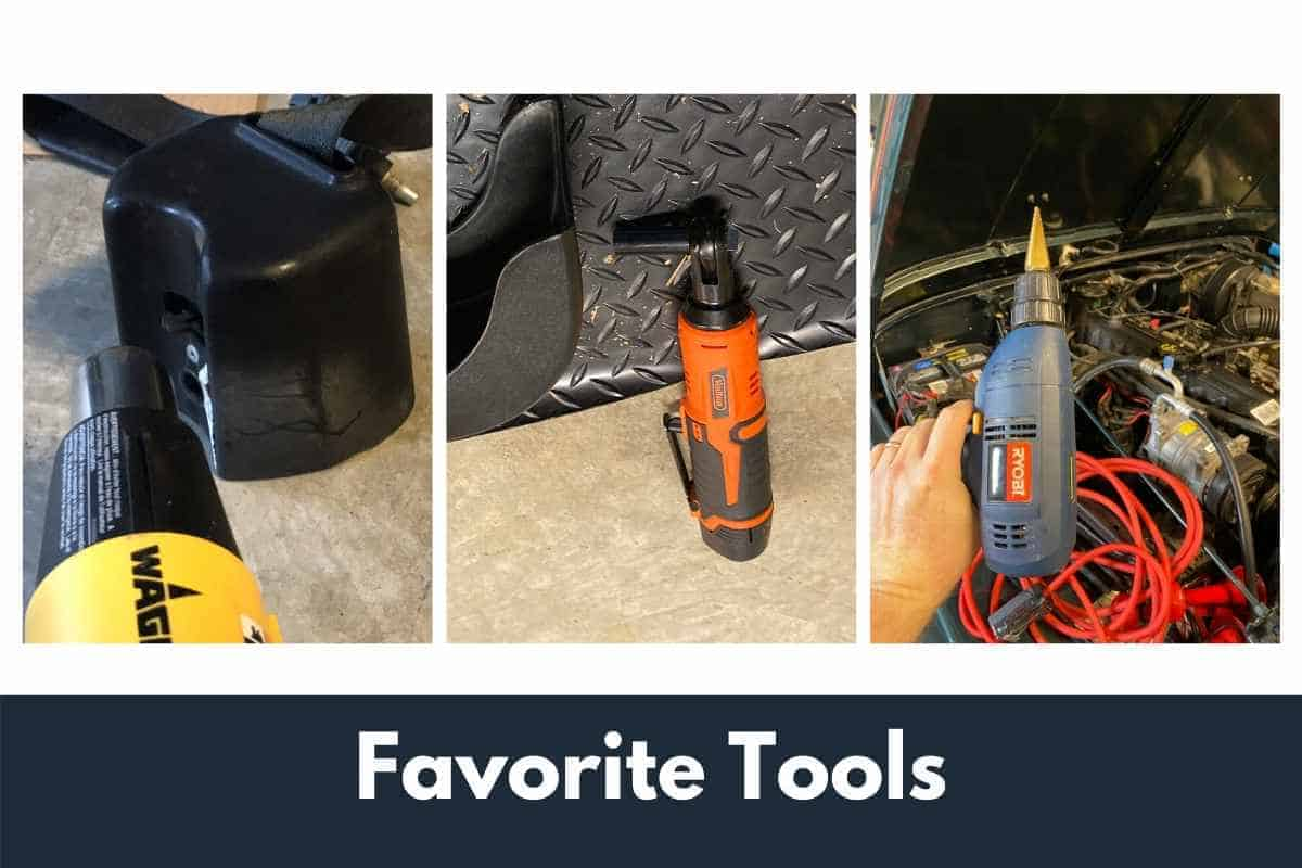 Jeep Tool box list and favorite tools for working on the Jeep
