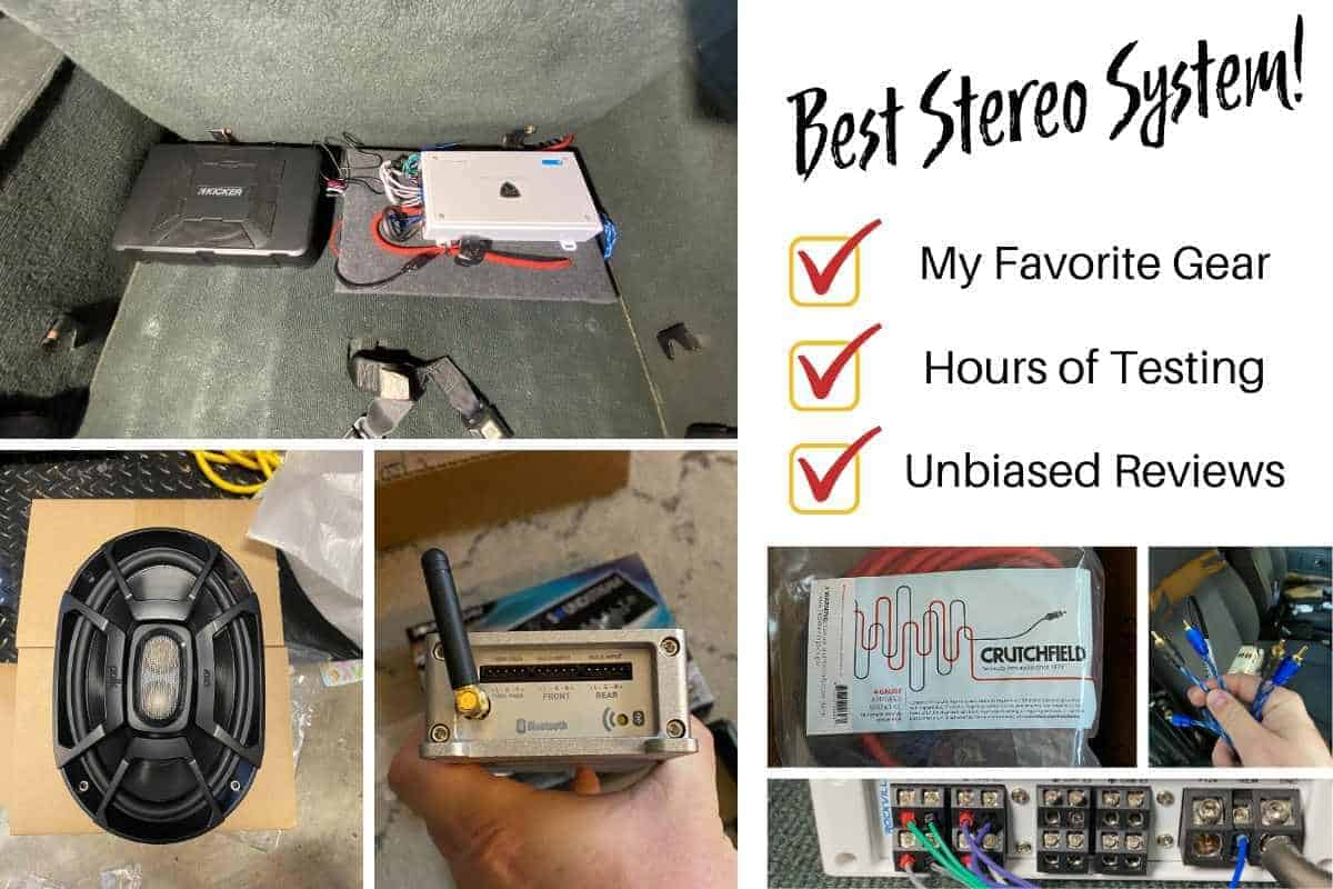 Jeep Stereo, Best Jeep Speakers, Speakers for a rollbar