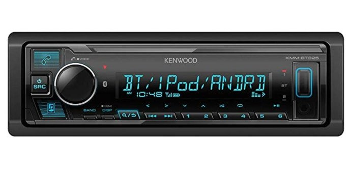 Kenwood KMM-BT-325 Jeep Radio