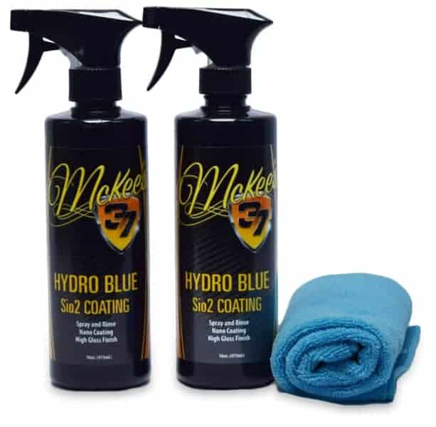 McKees 37 Hydro Blue SIO2 Coating, Best Jeep Detailing Products