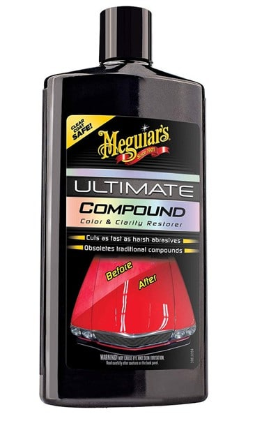 Meguiars Ultimate Compound - the best for the money. Best Jeep Detailing Products