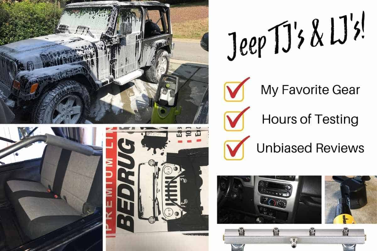 Jeep Wrangler TJ Accessories and Parts