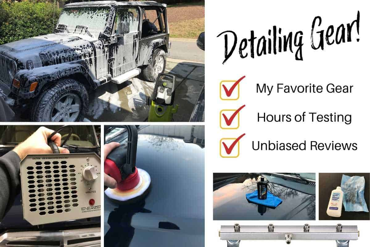 The Best Car Detailing Supplies for a Jeep