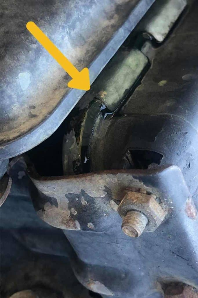 radiator leaking coolant in a Jeep Wrangler YJ