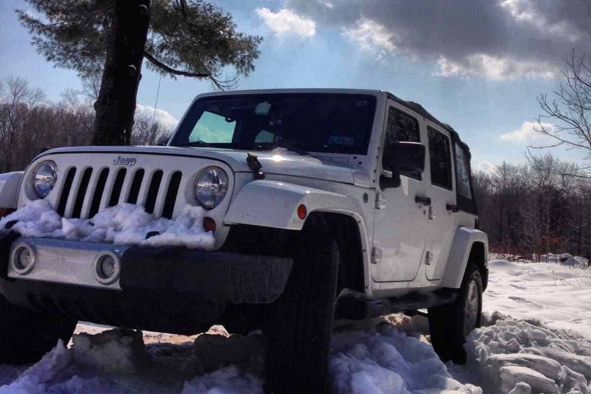 Can You Drive A Soft Top Jeep In The Winter?