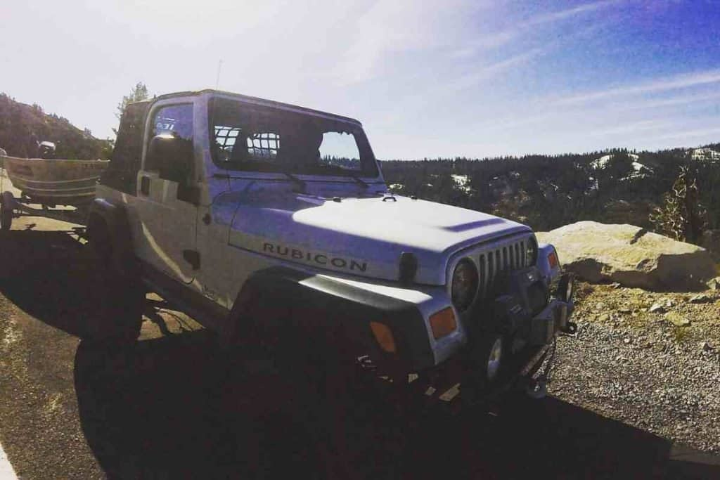 Can You Tow With A Jeep Wrangler? YJ, TJ, LJ, JK, LJ Towing Capacity