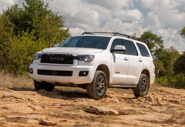 What SUVs Can Carry a 4x8 Sheet of Plywood? Toyota Sequoia