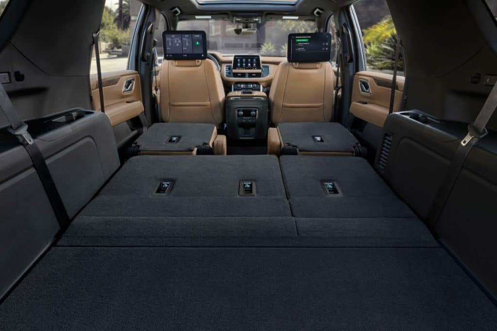 What SUVs Can Carry a 4x8 Sheet of Plywood?  2021 Chevrolet Suburban