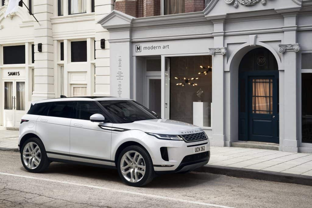 Is Range Rover Evoque AWD or 4WD?
