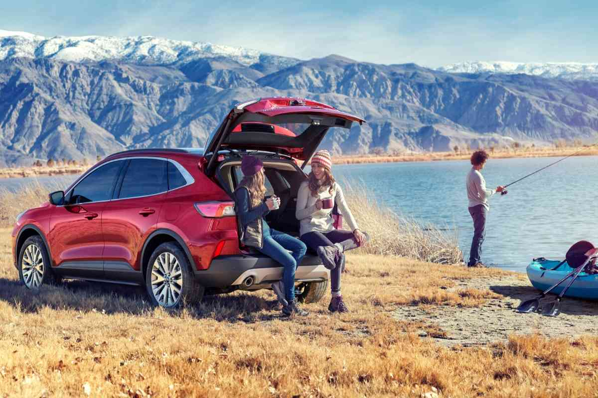Is a Ford Escape Big Enough to Sleep In? #camping #carcamping #Ford