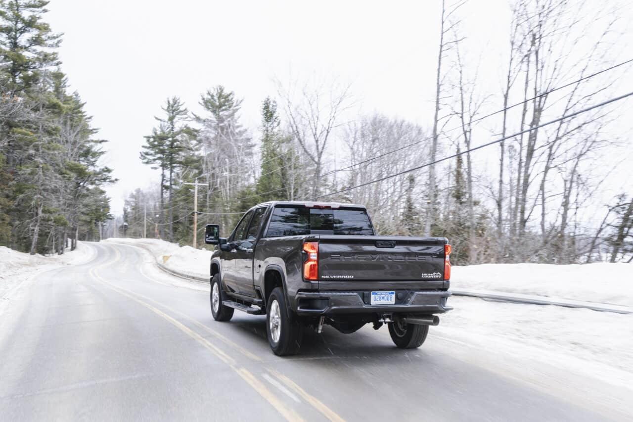 Is a Chevy Silverado Good in Snow? #truck #chevy #Silverado #4x4 #pickuptruck #trucklife