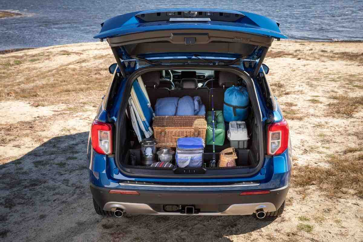 How Much Luggage Fits in a Ford Explorer?