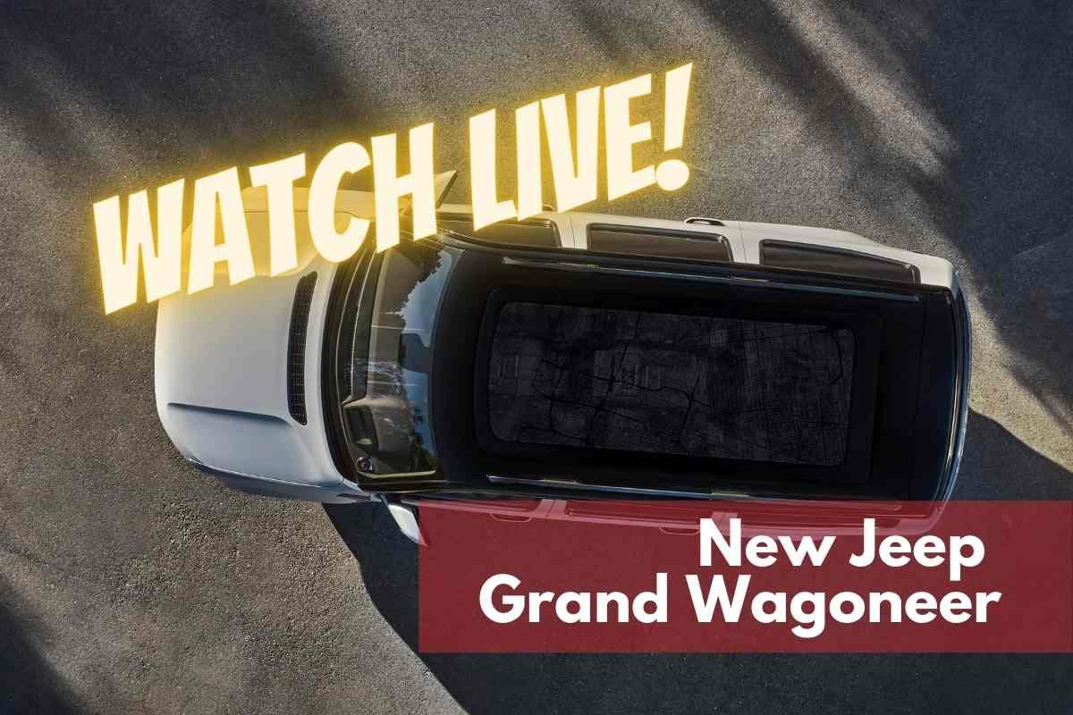 New Jeep Grand Wagoneer Reveal - Watch live! _ Four Wheel Trends #Jeep #Wagoneer