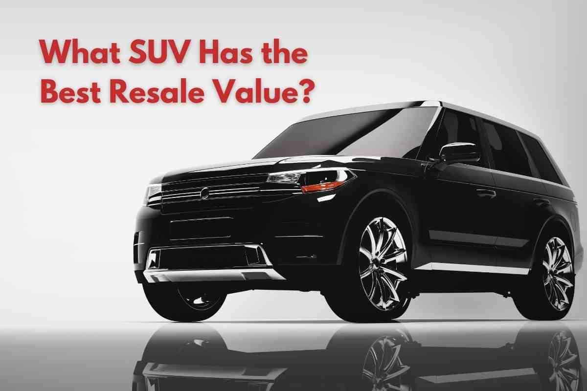 What SUV Has the Best Resale Value? #toyota #ford #honda #jeep #dodge #chevy #kia #subaru #suv
