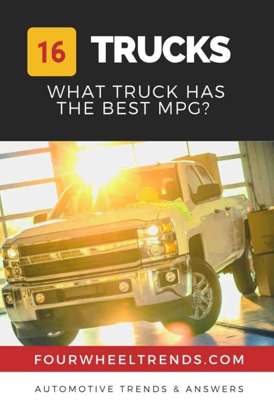 What Truck has the Best Mpg? [16 Truck MGP Shootout!]