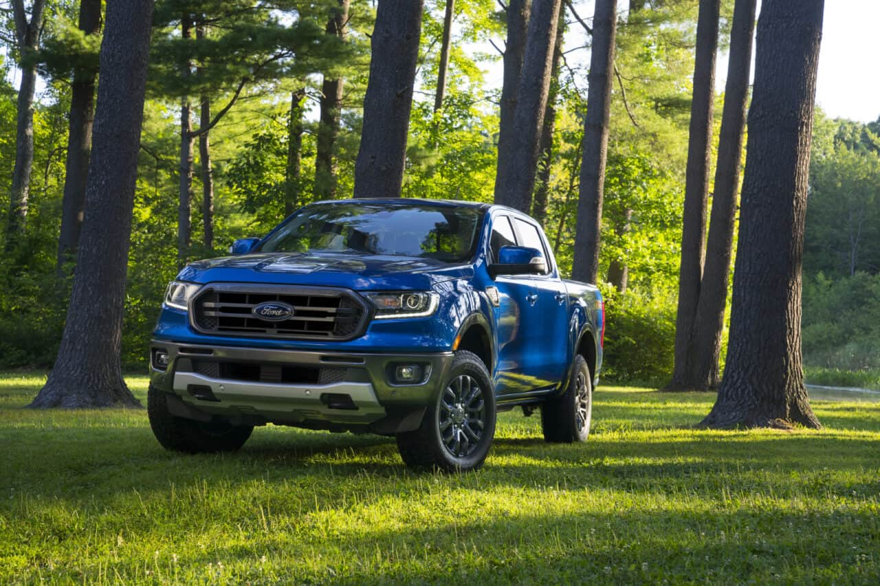 What is Included in the Ford Ranger Tow Package?